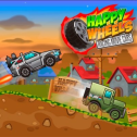 Happy Wheels: Racing Movie Cars